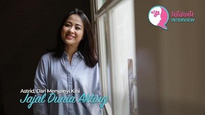 Astrid, Dari Menyanyi Kini Jajal Dunia Akting
