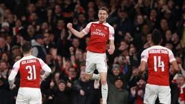 Arsenal Tekuk Napoli 2-0 di Perempat Final Liga Europa