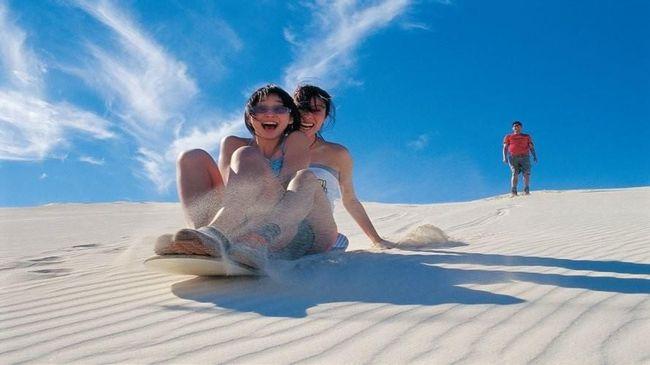 Wisata petualangan sangat cocok dilakukan di destinasi wisata beriklim sub-tropis semacam Australia Barat.