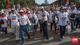 Ragam Pesan di Atribut Kampanye Jokowi: NKRI Dijaga Pancasila
