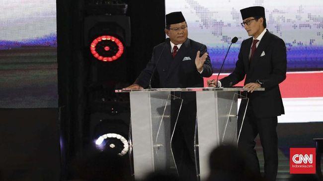 Calon Wakil Presiden Sandiaga Uno menyebut pertumbuhan ekonomi 5 persen yang dicapai di masa pemerintahan Jokowi 'menjebak' karena malah menyusahkan masyarakat.
