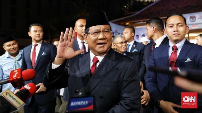 Merujuk hasil survei sejumlah lembaga, Prabowo Subianto merupakan tokoh dengan elektabilitas tertinggi sebagai capres.