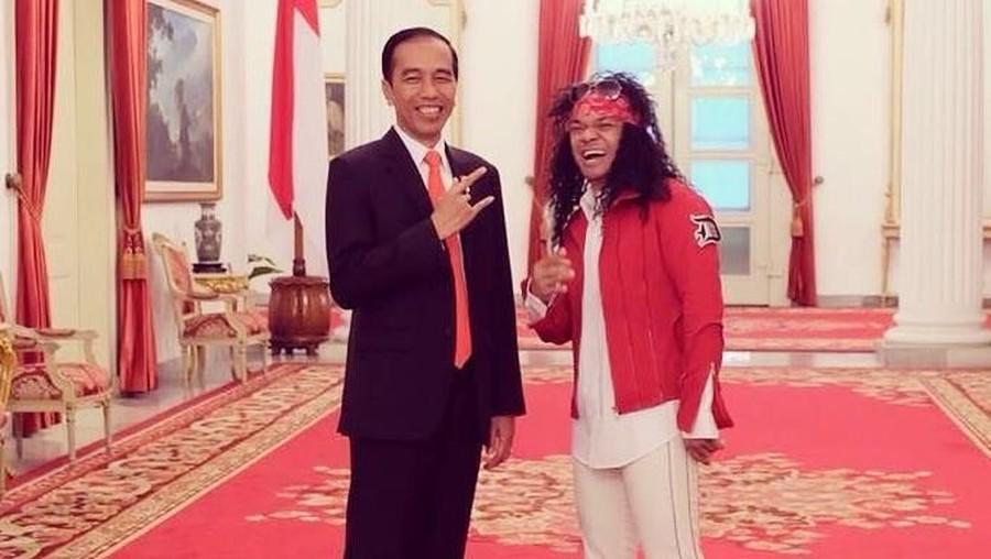 Dukung Jokowi, Candil Ikut Ramaikan 'Konser Putih Bersatu'