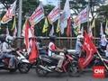 Konvoi dan Kemacetan Tol Dalam Kota di Kampanye Akbar Jokowi