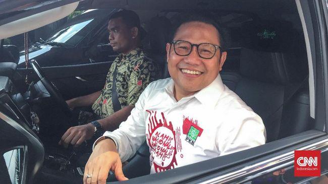 Ketua Umum PKB Muhaimin Iskandar memenuhi panggilan penyidik KPK sebagai saksi kasus dugaan korupsi di Kementerian PUPR.