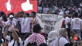 VIDEO: Jauh-jauh ke Jakarta demi Kampanye Akbar Jokowi-Ma'ruf