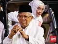 Ma'ruf Bicara Kemungkinan PAN-Demokrat Merapat ke Kubu Jokowi