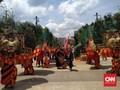 Puluhan Reog Ponorogo Ikut Kampanye Akbar Jokowi di GBK