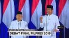 VIDEO: Visi & Misi Debat Final Capres-Cawapres 2019 (1/6)