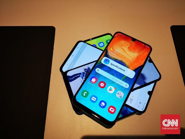 Membandingkan Samsung Galaxy A30 A50 A70 Dan A80