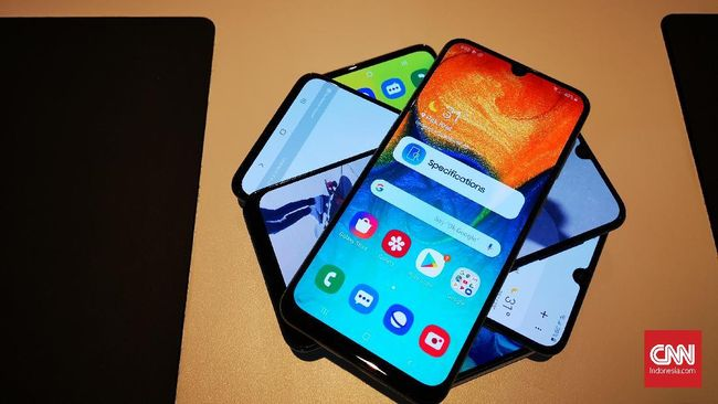 Membandingkan Samsung Galaxy A30, A50, A70, dan A80