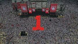 Jokowi Tiba di Stadion Utama GBK, Puncak Kampanye Akbar 2019