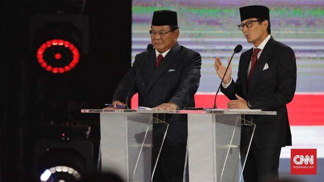 Di akhir debat, calon Wakil Presiden nomor urut 02, Sandiaga Uno, 13 kali mengucapkan kata TPS, Tusuk Prabowo Sandi, sehingga mengundang komentar lucu warganet.