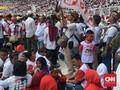 Pendukung Jokowi Ajak Anak-anak ke Lokasi Kampanye Akbar