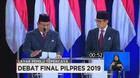 VIDEO: Closing Statement Jokowi-Maruf Vs Prabowo-Sandi (6/6)
