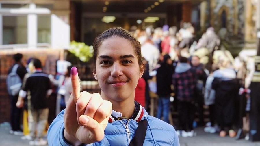 Pengalaman Pertama El Rumi Nyoblos di Pemilu 2019