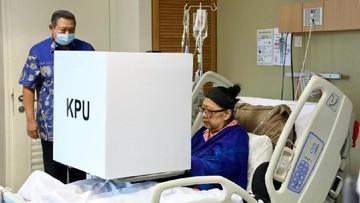 Cerita Ani Yudhoyono Sempatkan Ikut Pemilu Walau Terbaring Sakit