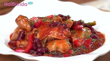 Resep Chicken Red Bean Balado, Pedasnya Bikin Bunda Nambah Terus