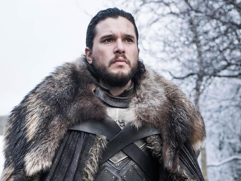 Kit Harington memerankan sosok Jon Snow di Game of Thrones sejak 2011 silam.