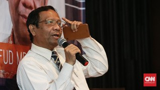 Mahfud Sindir Dai Karbitan di TV Cuma Melucu dan Cerita Horor