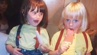 <p>Dari kecil, Sophie Turner sudah memiliki mata biru dan rambut pirang. Semakin dewasa, Sophie memang terlihat semakin cantik. (Foto: Instagram @sophiet)</p>