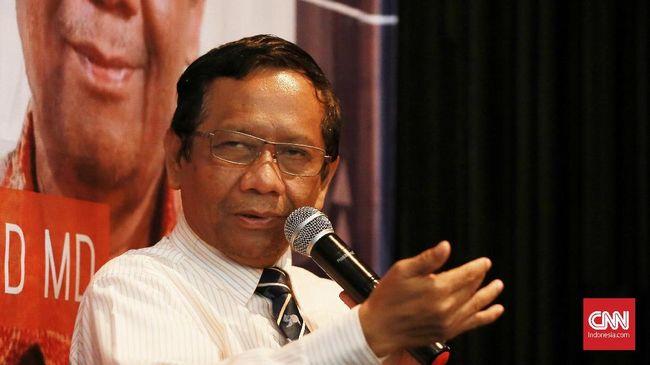 Menko Polhukam Mahfud MD menilai tak elok jika Komnas HAM bergabung di TGPF yang bisa memunculkan kesan Komnas HAM dihadap-hadapkan dengan negara.