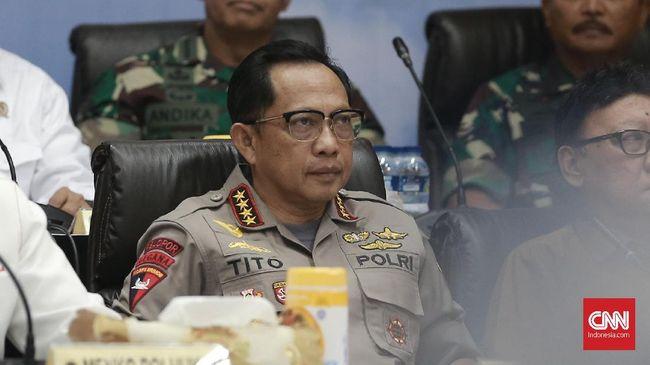Kapolri Jenderal Tito Karnavian mengatakan pasal pidana makar akan digunakan pada aksi people power yang bermuatan pesan menjatuhkan pemerintah.