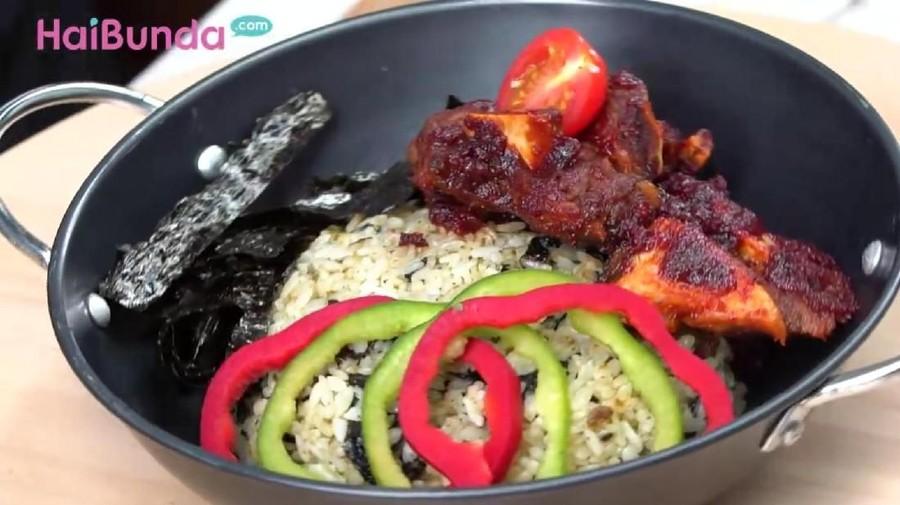 Resep Spicy Ribs Fried Rice, Cocok bagi Penikmat Kuliner Korea