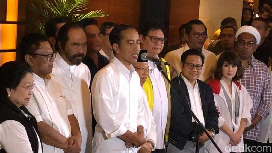 Unggul Quick Count, Ini Pidato Jokowi