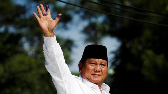 Paslon nomor urut 02, Prabowo Subianto-Sandiaga Uno, menang dalam pemungutan suara Pemilu 2019 di Suriah, tempat kelompok militan ISIS bercokol.