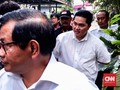 Erick Thohir dan Pramono Anung Sambangi Kediaman Mega