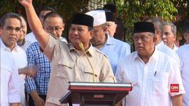 VIDEO: Prabowo Klaim Menang dan Minta Pendukung Awasi TPS