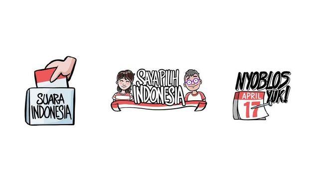 Instagram Rilis Stiker Pemilu Rayakan Pesta Demokrasi