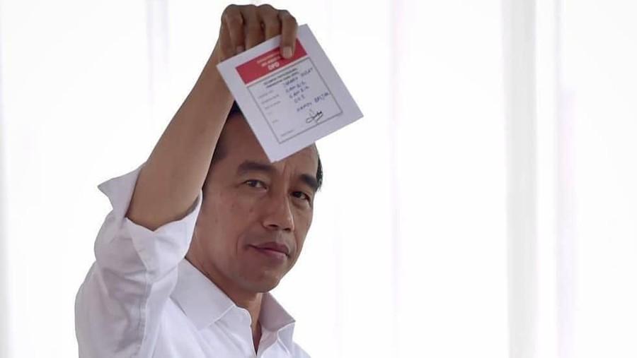 Hasil Quick Count Pilpres 2019, Jokowi-Ma'ruf Unggul Sementara