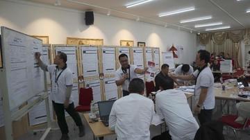 Jokowi-Ma'ruf Unggul 79 Persen dalam Hitung Suara di Denmark