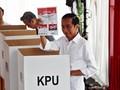 Quick Count Median 41,93 Persen Suara: Jokowi 54,65 Persen