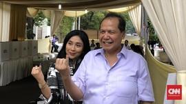 Chairul Tanjung dan Istri Gunakan Hak Pilih di TPS Gondangdia