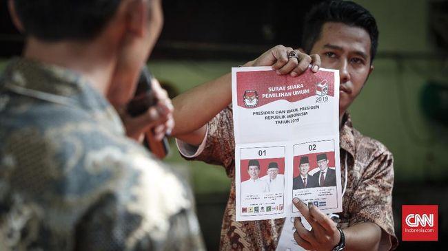 Paslon nomor urut 01, Joko Widodo dan Ma'ruf Amin, meraih suara terbanyak dalam pemungutan suara pemilihan umum RI di Berlin dan Hamburg, Jerman.