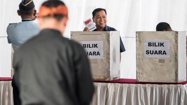 Paslon 01 Jokowi-Ma'ruf berhasil mendapatkan suara terbanyak di dua TPS yang terdapat di dalam Lapas Sukamiskin, Bandung