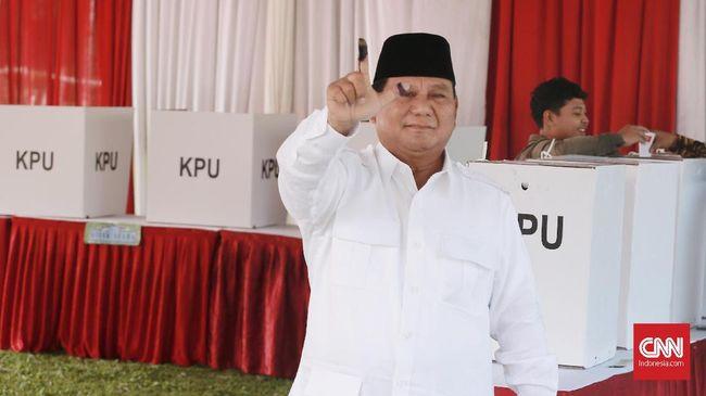 Bisa Bertemu Prabowo Langsung di TPS, Emak-emak Menangis