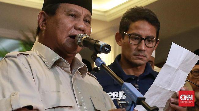 Dalam rapat pleno KPU, Selasa (7/5), paslon 02 Prabowo-Sandi total meraup 14.604 suara di Arab Saudi, sedangkan paslon 01 Jokowi-Ma'ruf mendapat 7.397 suara.