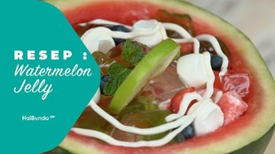 Resep Watermelon Jelly