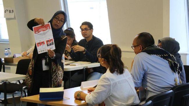 Paslon presiden dan wakil presiden nomor urut 01, Joko Widodo dan Ma'ruf Amin, menguasai perolehan suara sementara dalam pemilihan umum di Inggris dan Irlandia.