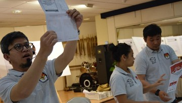 Jokowi Menang dalam Pemilu di Madrid, WNI Teriak 'Hore'