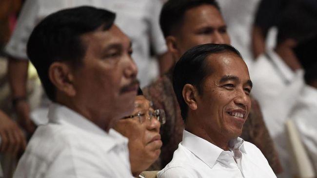 Tim Kampanye Nasional (TKN) Jokowi-Ma'ruf Amin menyebut berdasarkan hitungan internalnya, pasangan nomor urut 01 tersebut unggul atas Prabowo-Sandiaga.