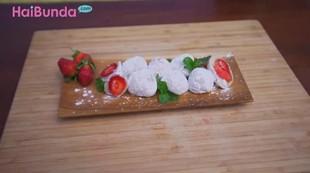 Resep Mochi Strawberry, Lembutnya Meleleh di Mulut