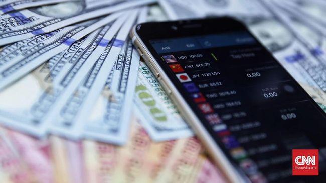 Rupiah menguat 0,08 persen ke level Rp14.056 per dolar AS. Tapi penguatan diperkirakan tak akan berlangsung lama.