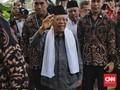 Ma'ruf Amin Akui Kemenangan Jokowi di Pilpres Masih Digantung