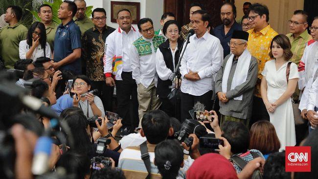 Sejumlah petinggi partai politik koalisi pemerintahan Jokowi-Ma'ruf enggan berbicara banyak soal calon menteri terkait isu reshuffle Kabinet Indonesia Maju.