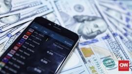 Rupiah Melemah Tipis ke Rp14.453 per Dolar AS